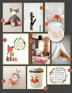 A, Friendly, Fox, Nursery