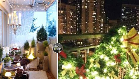 decorare il balcone  natale  idee da cui ispirarsi