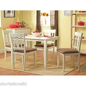 white kitchen set furniture 5 dining set white wood breakfast furniture 4 chairs