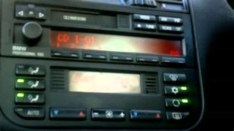 bmw professional radio rds bmw  youtube