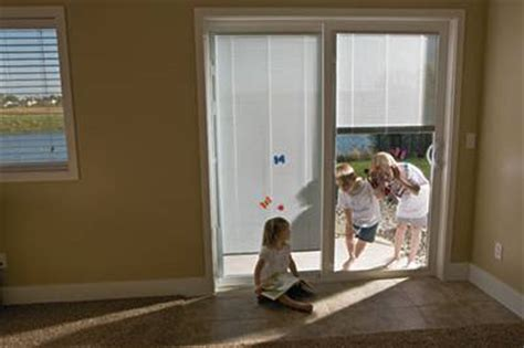 patio doors  built  blinds