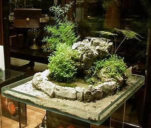 jardin japonais miniature interieur ou la rigueur l39ordre With mini jardin zen interieur