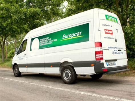 utilitaire moins polluant europcar adopte les mercedes