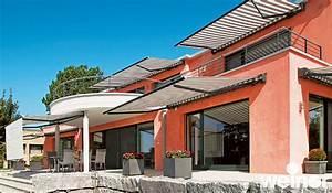 markisen fur balkon und terrasse oder als blendschutz lutz With markise balkon mit tapeten wischtechnik optik
