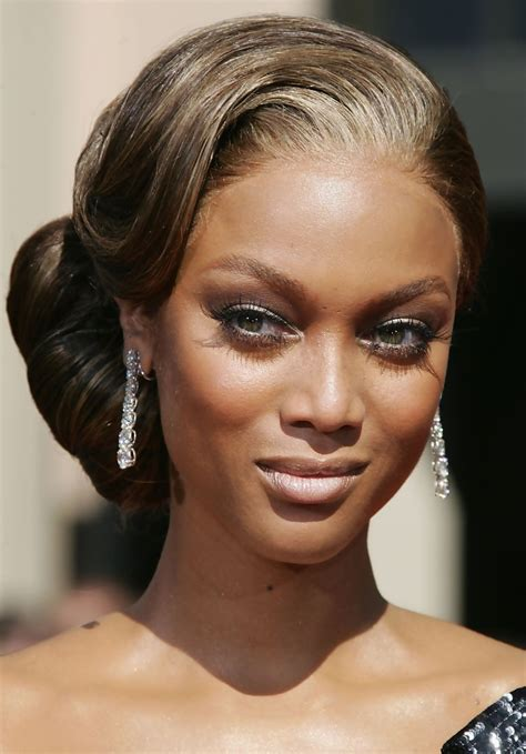 more pics of tyra banks chignon 29 of 32 hair lookbook