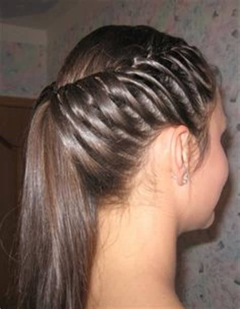 cute way to put your hair up and still look nice