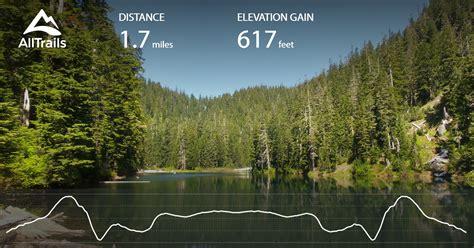 independence lake trail washington alltrails map