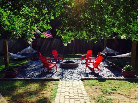 Hammock Area by Backyard Pit And Hammock Area Secret Garden