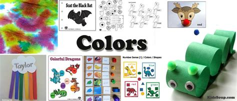 colors preschool activities lessons and worksheets 701 | Colors Colours Activities Preschool