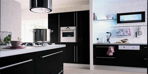 modele cuisine hygena cuisine hygena noir et blanc