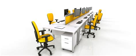 Yellow Office Desk by Icarus Office Furniture Modern Contemporary Office