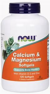 Now Supplements  Calcium  U0026 Magnesium With Vitamin D