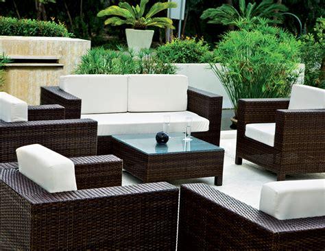 Salon Milan  Mobilier De Jardin Meuble Design Intérieur