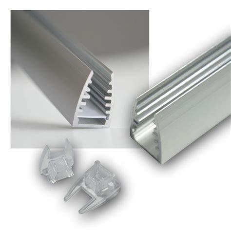 Led Für Glasböden by 1m Led Alu Glaskanten Profil F 252 R Glasbodenbeleuchtung
