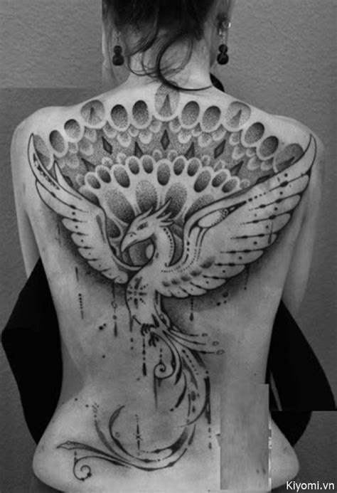 37+ Phoenix Tattoos For Girls