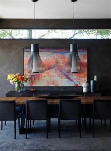 Décoration Murale Salle À Manger : d co design au masculin pour salle manger et coin de repas ~ Dode.kayakingforconservation.com Idées de Décoration
