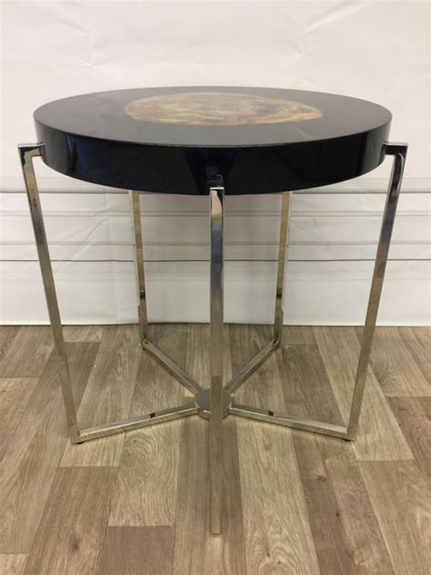 black petrified wood side table eichholtz side table pompidou bijzettafels luxury