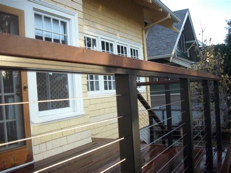 cable railing  ipe top cap deck masters llc