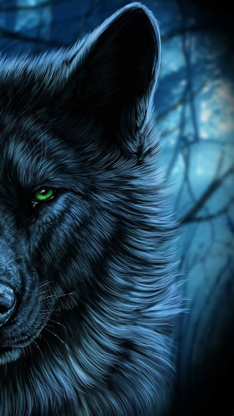 Digital Wolf Wallpaper by Trippy Wolf Wallpapers 66 Images
