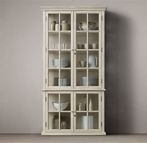 Sideboard With Glass Doors by Hton Casement Door Glass Sideboard Glass Hutch
