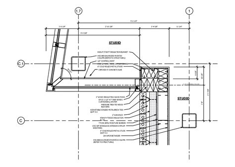 Kawneer Curtain Wall Corner Detail by Corner Window Curtain Wall Detail Pictures To Pin On
