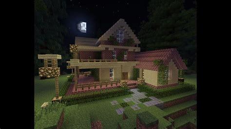 minecraft country house minecraft country house style timelapse