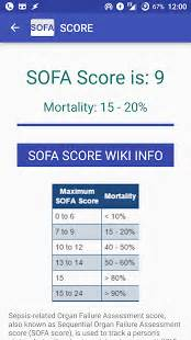 sepsis score sofa calculator 2 0 apk download apkplz