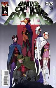 Battle of the Planets (2002 Image) comic books