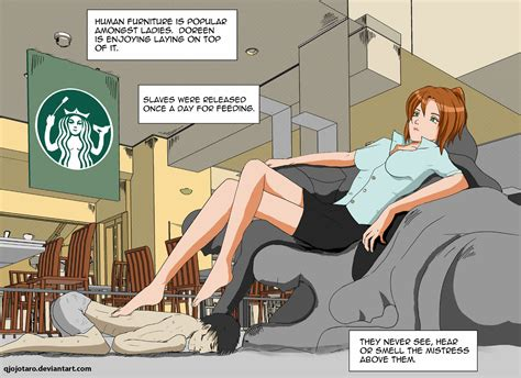 Human Sofa By Qjojotaro On Deviantart