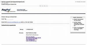 Was Ist Meine Paypal Adresse : ist mal ein recht gut gemachter betrugsversuch ~ Buech-reservation.com Haus und Dekorationen