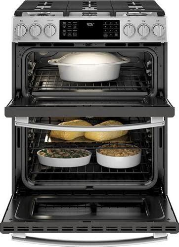 ge profile pgsselss    double oven gas range stainless steel