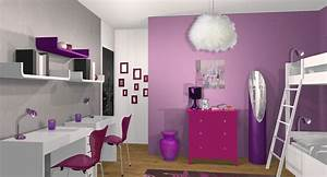 awesome deco chambre de petite fille simple photos With chambre de petite fille