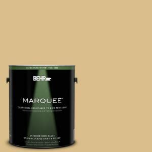 behr marquee 1 gal mq2 18 honey tea semi gloss enamel