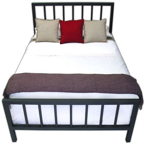 Spindle Headboard And Footboard by Spindle Steel Bed Frame Boltz Steel Furniture