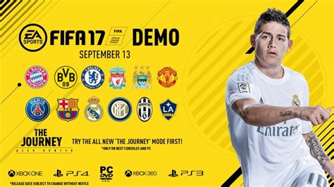 FIFA 17 DEMO!!!! OFFICIAL FULL GUIDE Ft. THE JOURNEY!