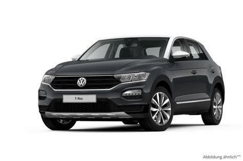 Vw T Roc 1 0 Tsi Opf 6 Leasing Ab 152 00