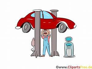 Nutzungsrechte Illustration Berechnen : auto auf hebeb hne in werkstatt bild illustration clipart ~ Themetempest.com Abrechnung