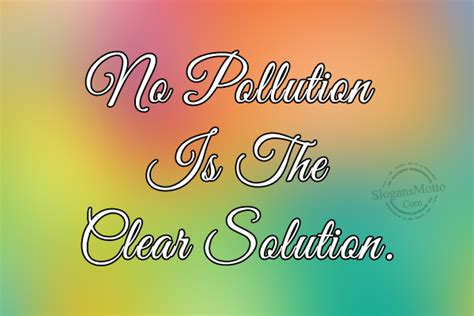 slogans  pollution page