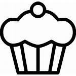 Dessert Icon Cake Sweet Svg Muffin Onlinewebfonts