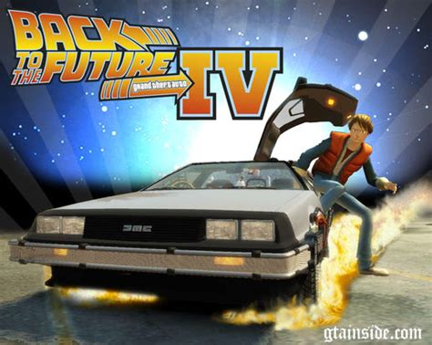 Gta 4 Back To The Future Pack Mod Gtainsidecom