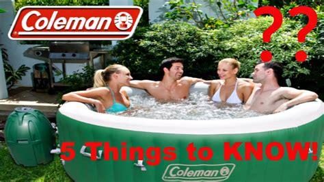 tub coleman 5 reasons not to buy a coleman saluspa tub