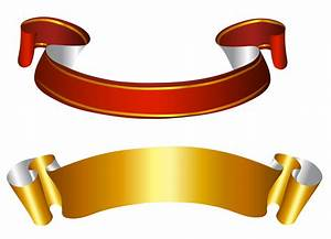 Gold and Red Banners Transparent PNG Picture | баннер ...