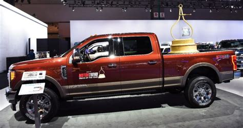 2017 Truck Of The Year by 2017 Ford Duty Cruises To Motor Trend Truck Of