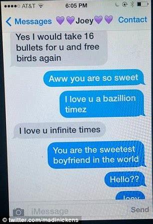girls break  text  boyfriend   cheated