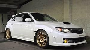 2010 Subaru Sti W  El Headers  Catless Invidia Downpipe