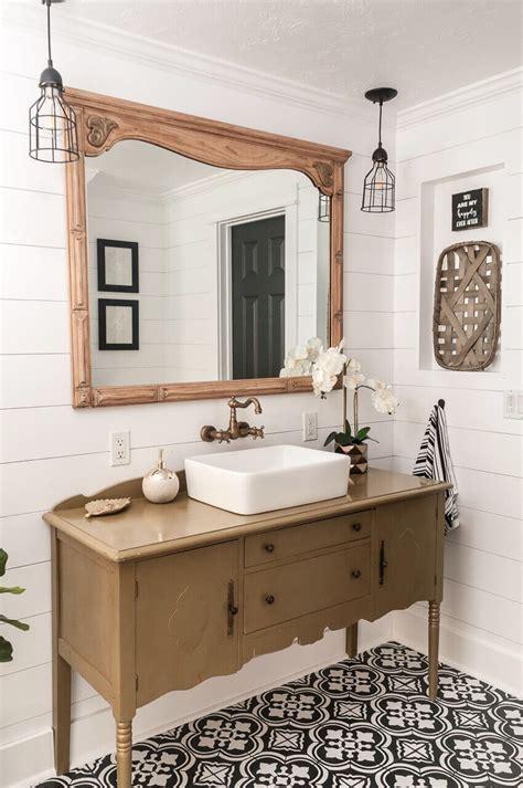 farmhouse mirror ideas  designs