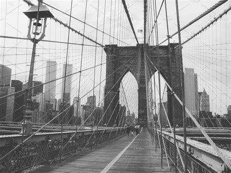 twin towers  brooklyn bridge architecture