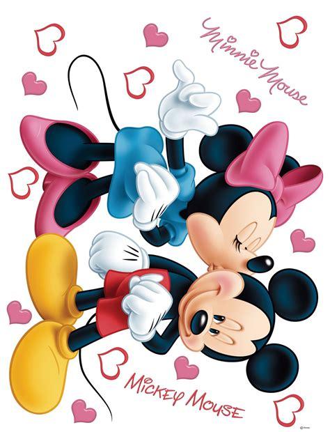 Wandtattoo Kinderzimmer Mickey Mouse by Disney Sticker Wandsticker Mickey Maus 65x85cm