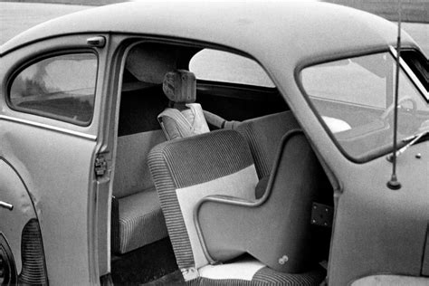 First Rearward Facing Child Safety Seat Prototype Tested