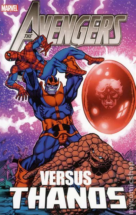 avengers  thanos tpb  marvel comic books